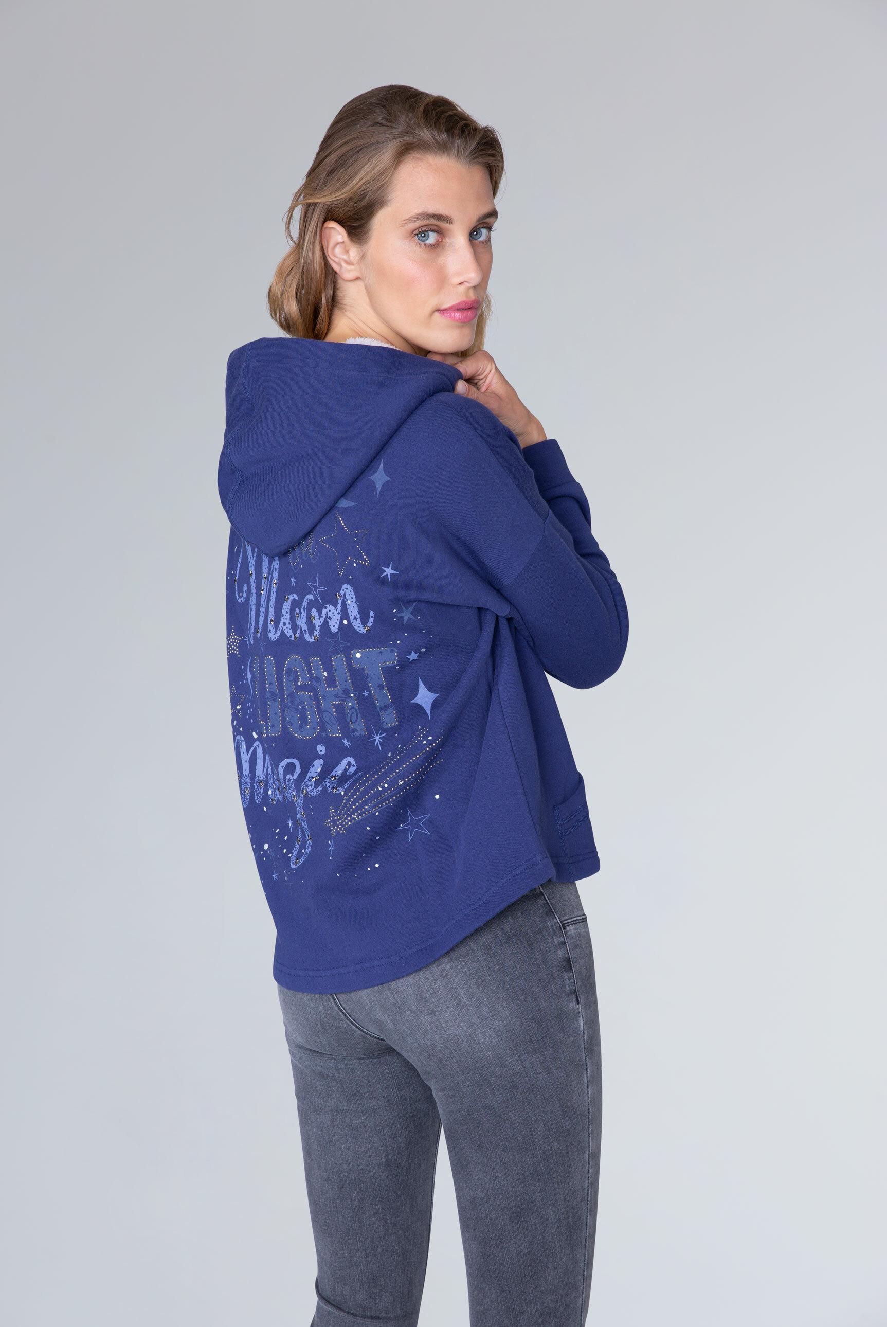 Hoodie Jacket mit funkelndem Back Artwork
