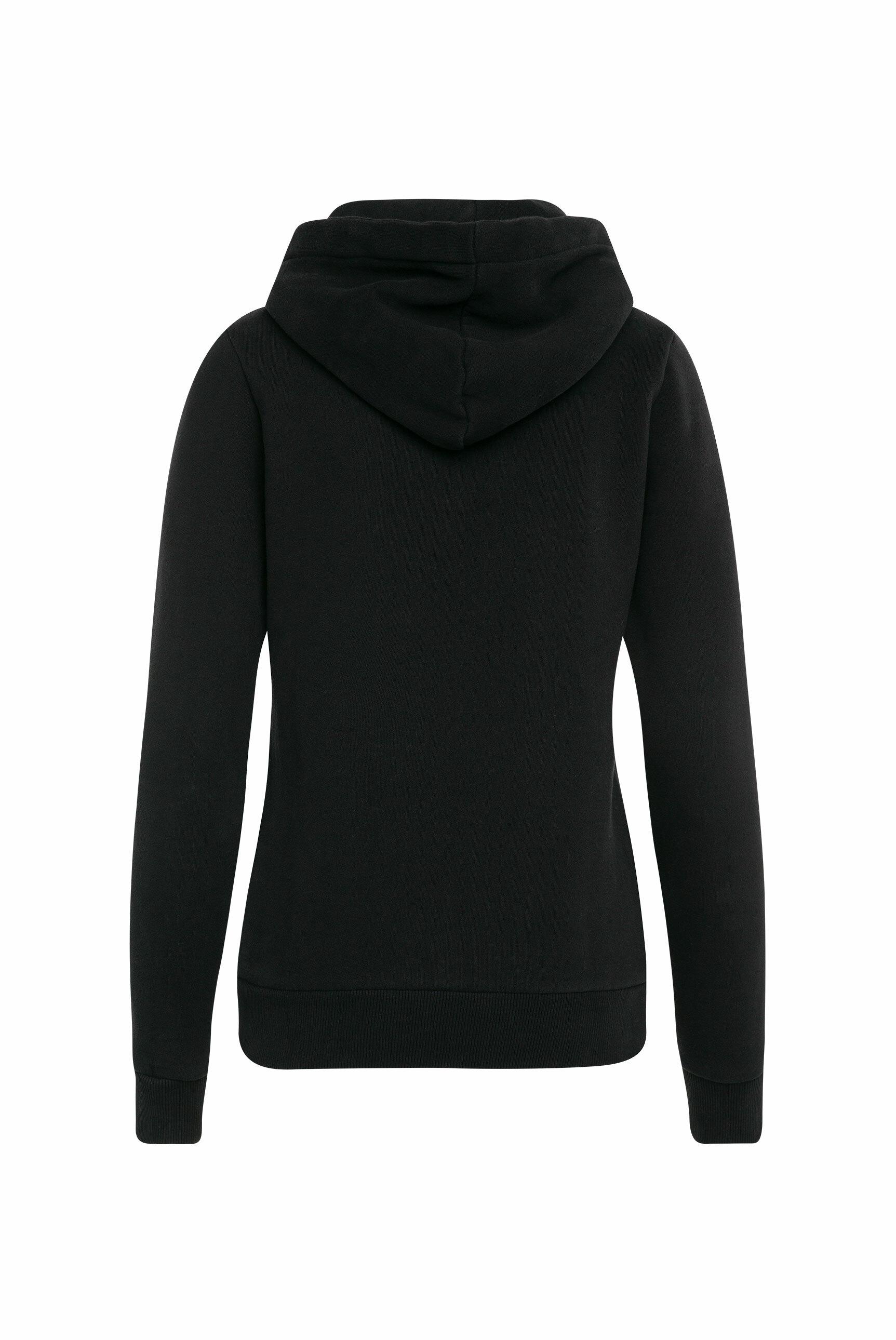 Hoodie-Jacket mit Glitter Artwork