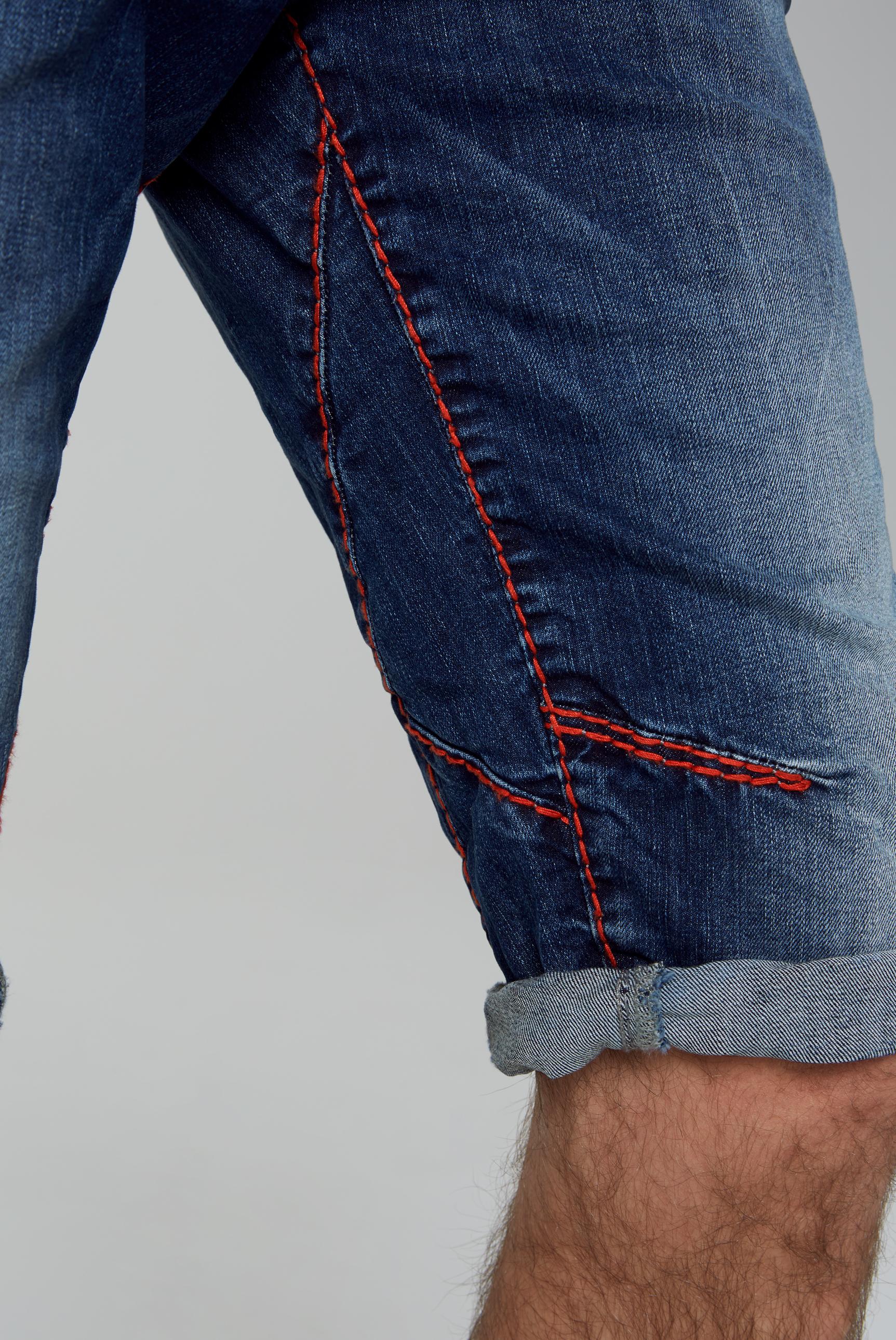 JA:CK Skater Shorts mit farbigen Nähten