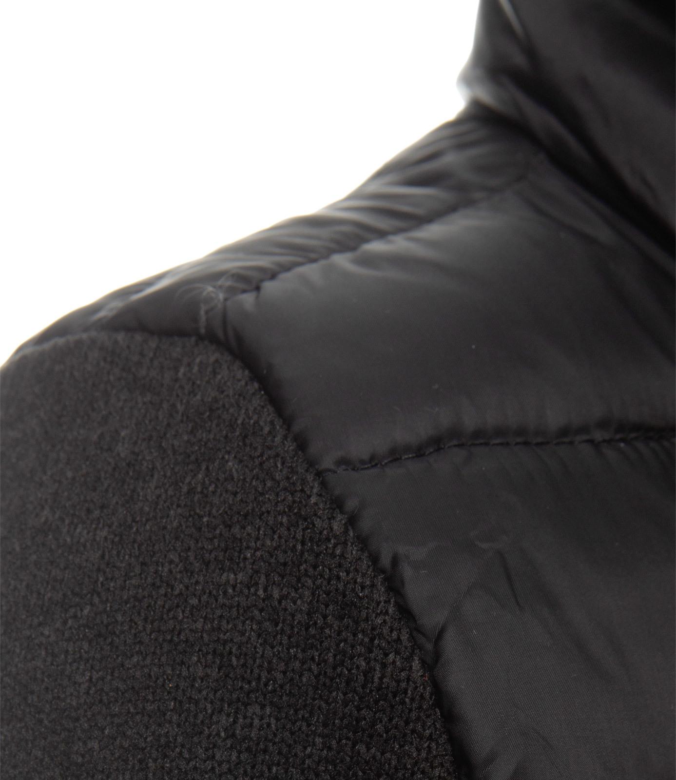 Jacke im Materialmix mit Artworks