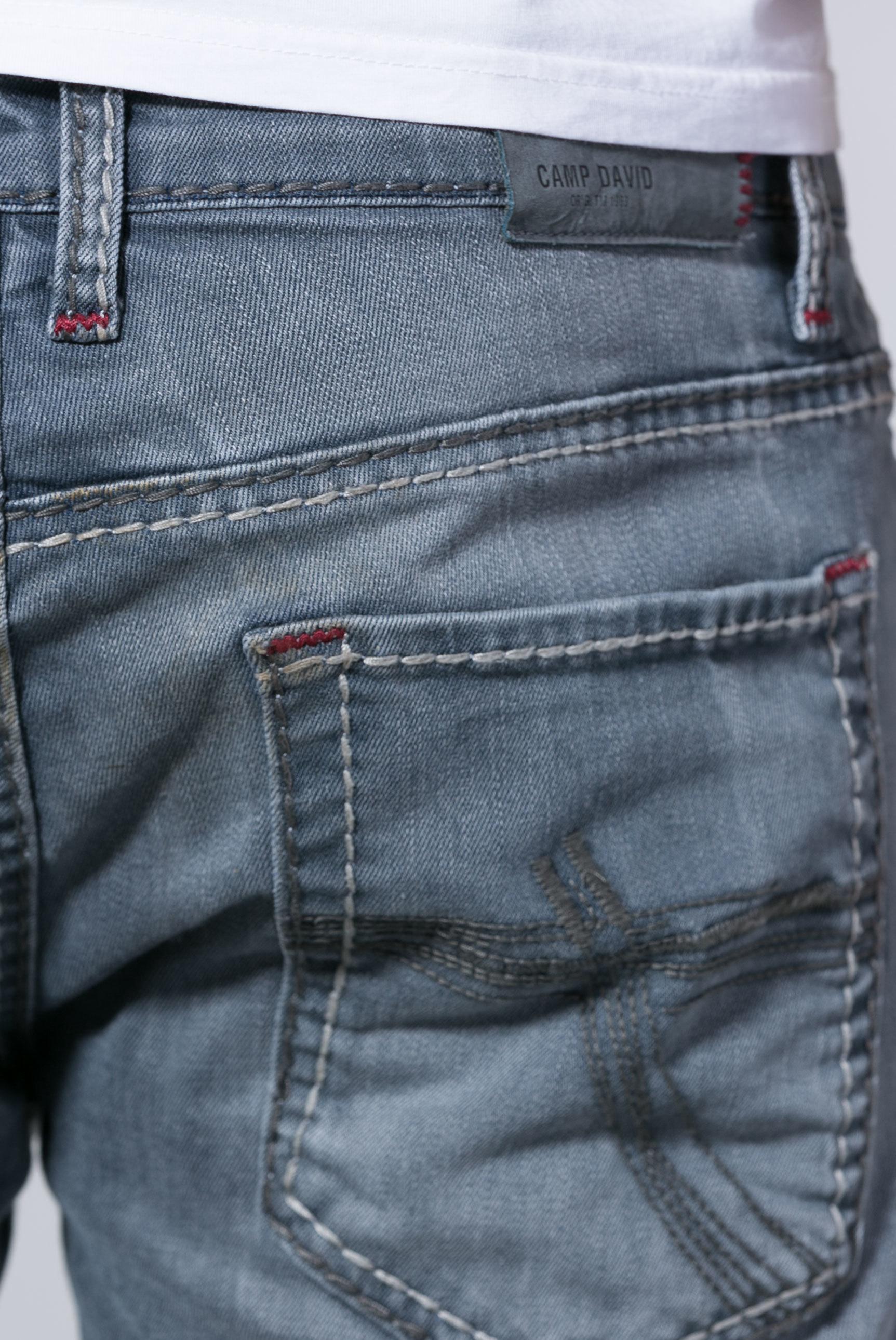 Jeans BR:AD mit gefärbter Innenseite und Destroys