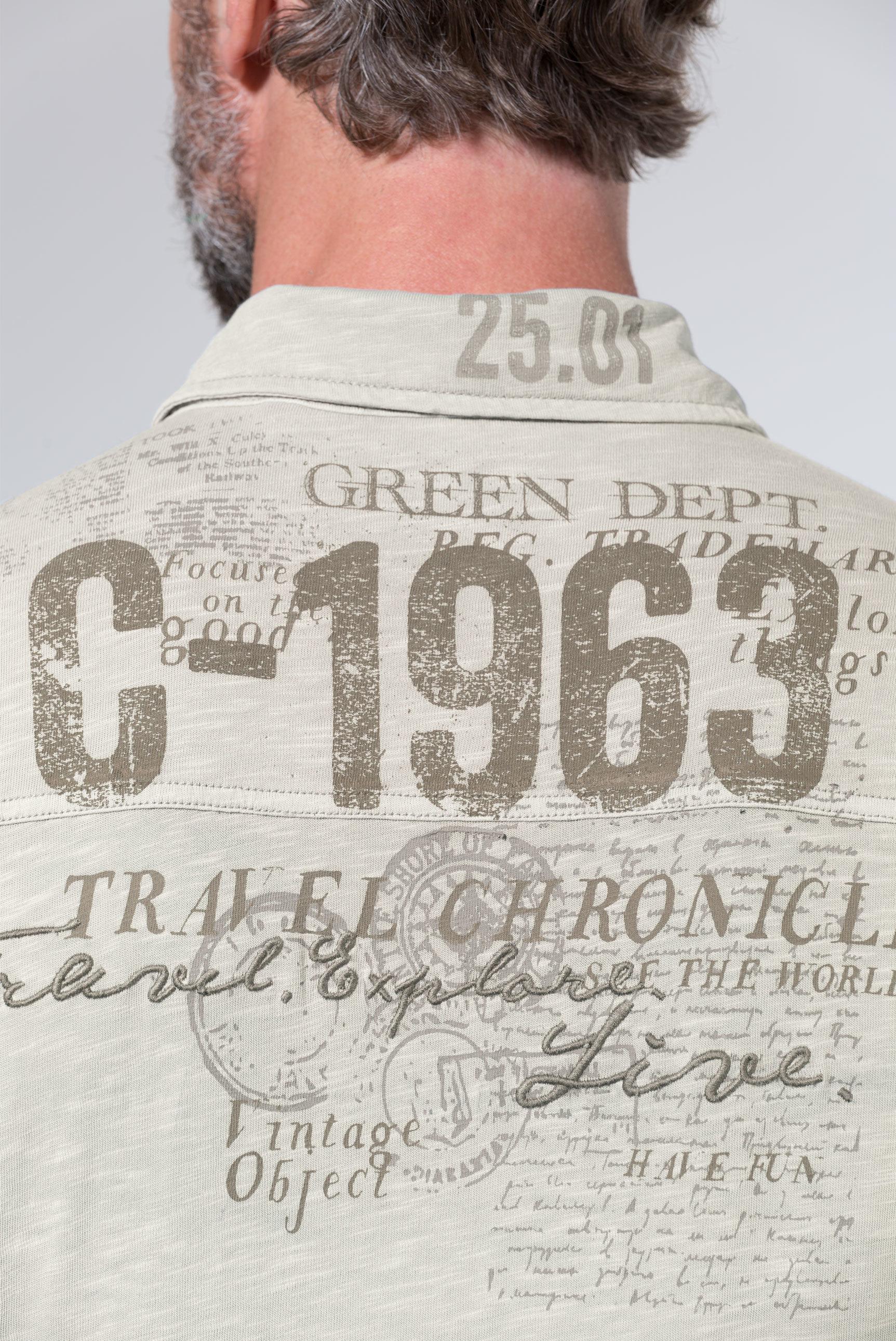 Langarmhemd aus Jersey mit Back Artwork