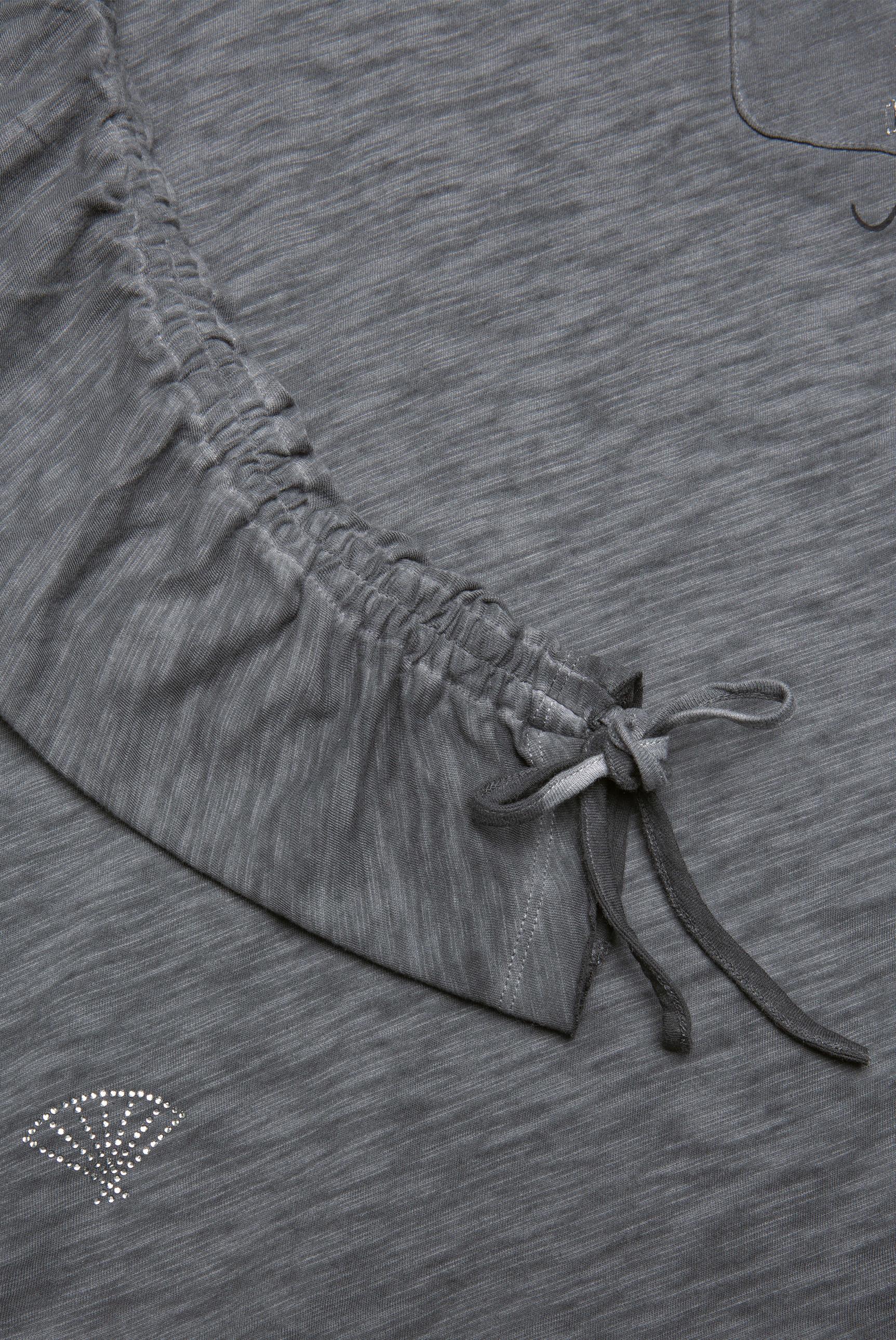 Langarmshirt mit Ärmel-Raffung