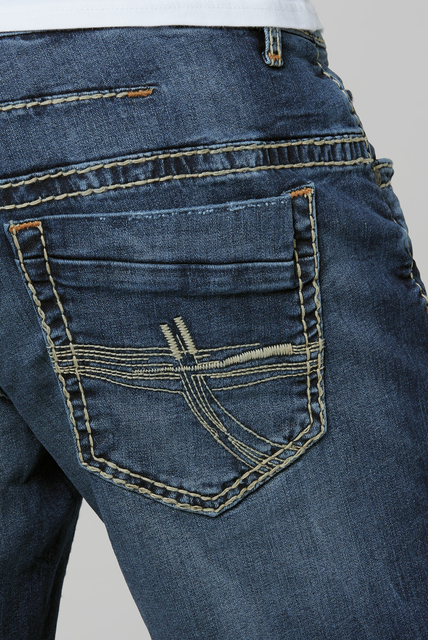 Skater Jeans CO:NO mit Vintage-Waschung