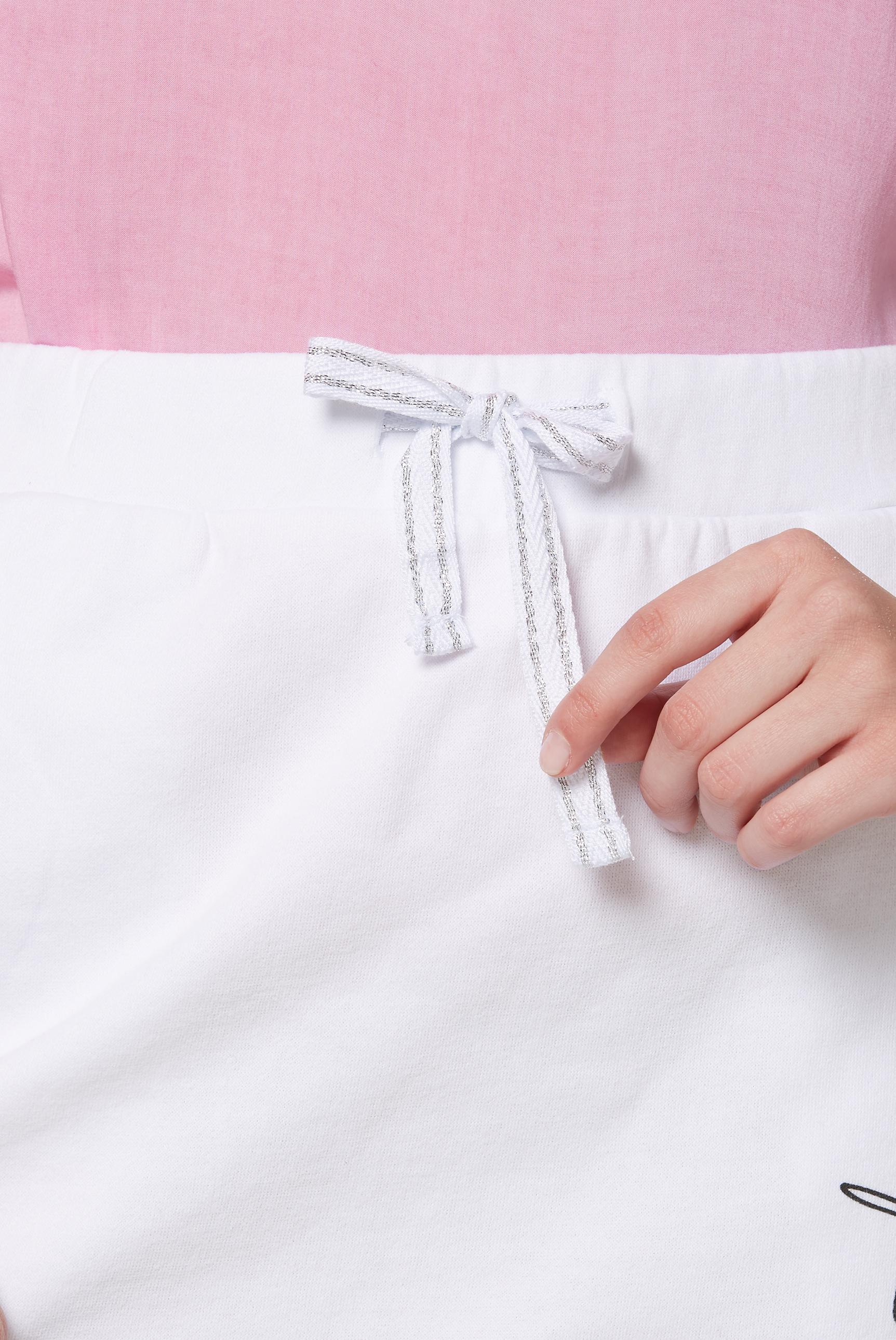 Sweatrock mit Seitentape und Print