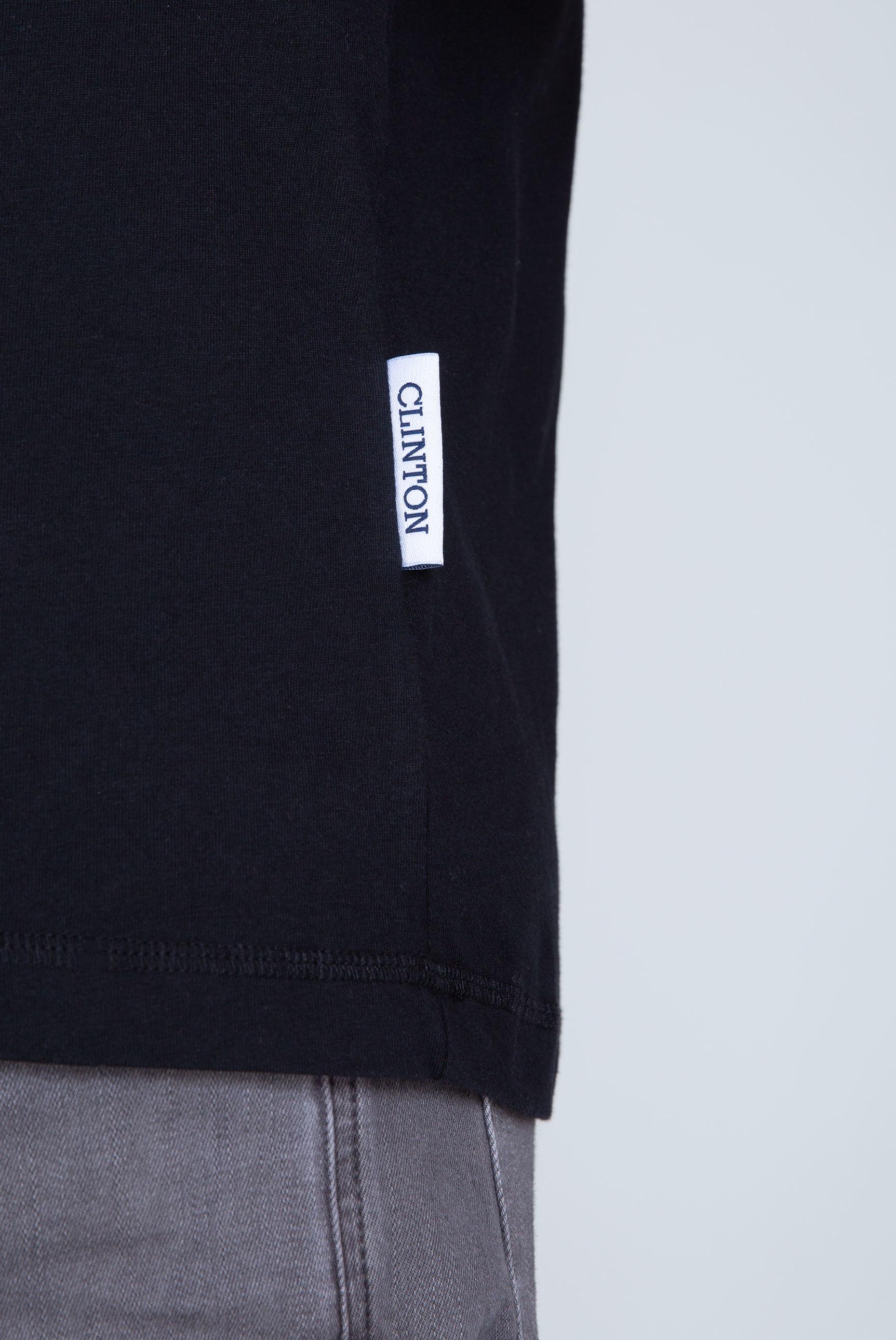 T-Shirt Rundhals mit Logo Print