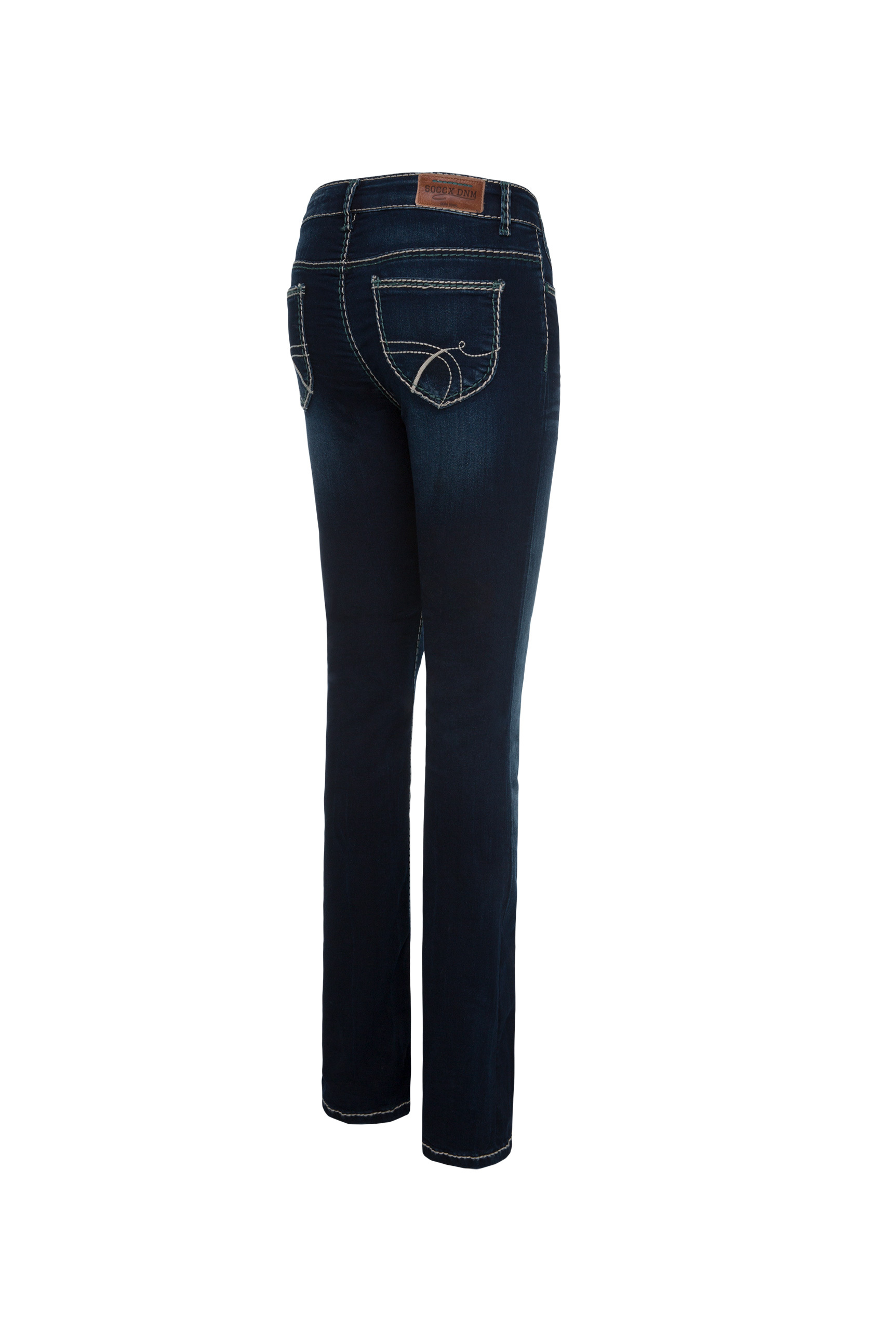 Bootcut Jeans CO:LE in Blue Black Used