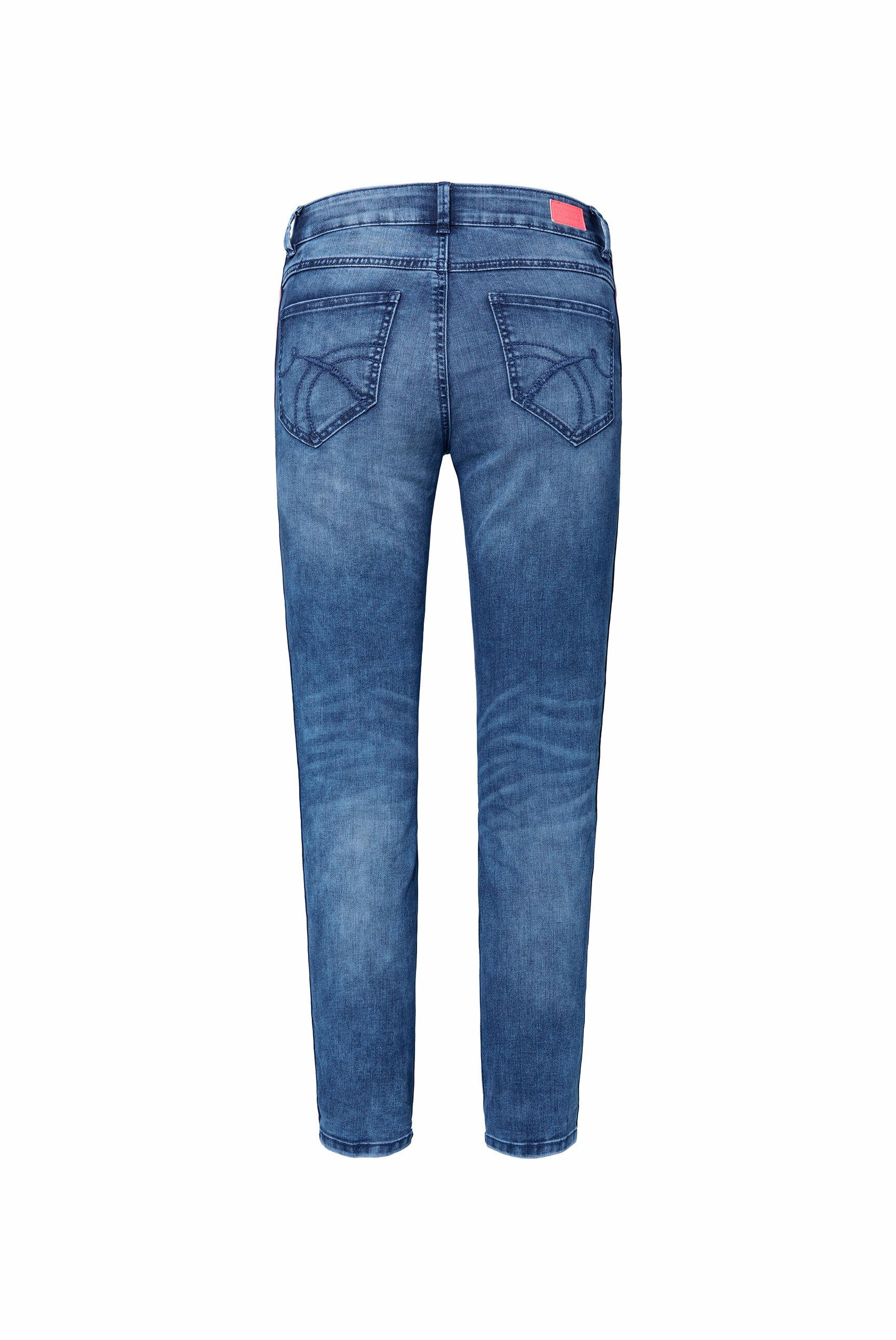 Comfort Fit Jeans CH:AR mit Tapes an den Seiten