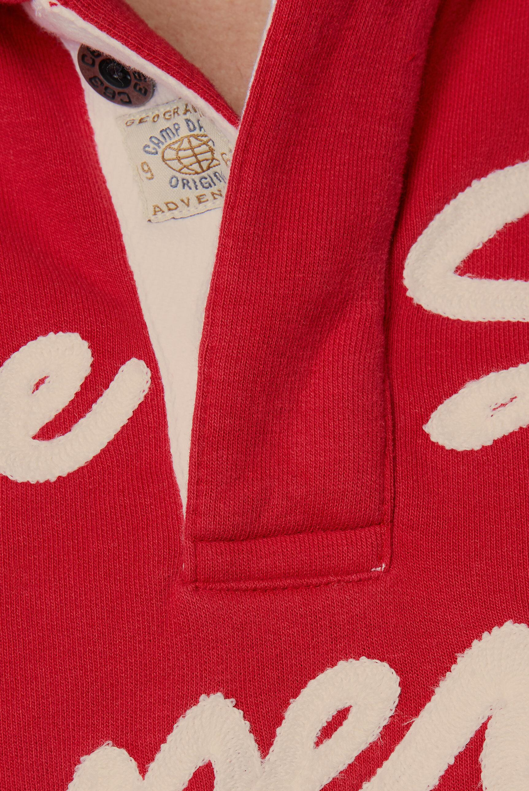 Kapuzensweater mit Logo-Stickerei