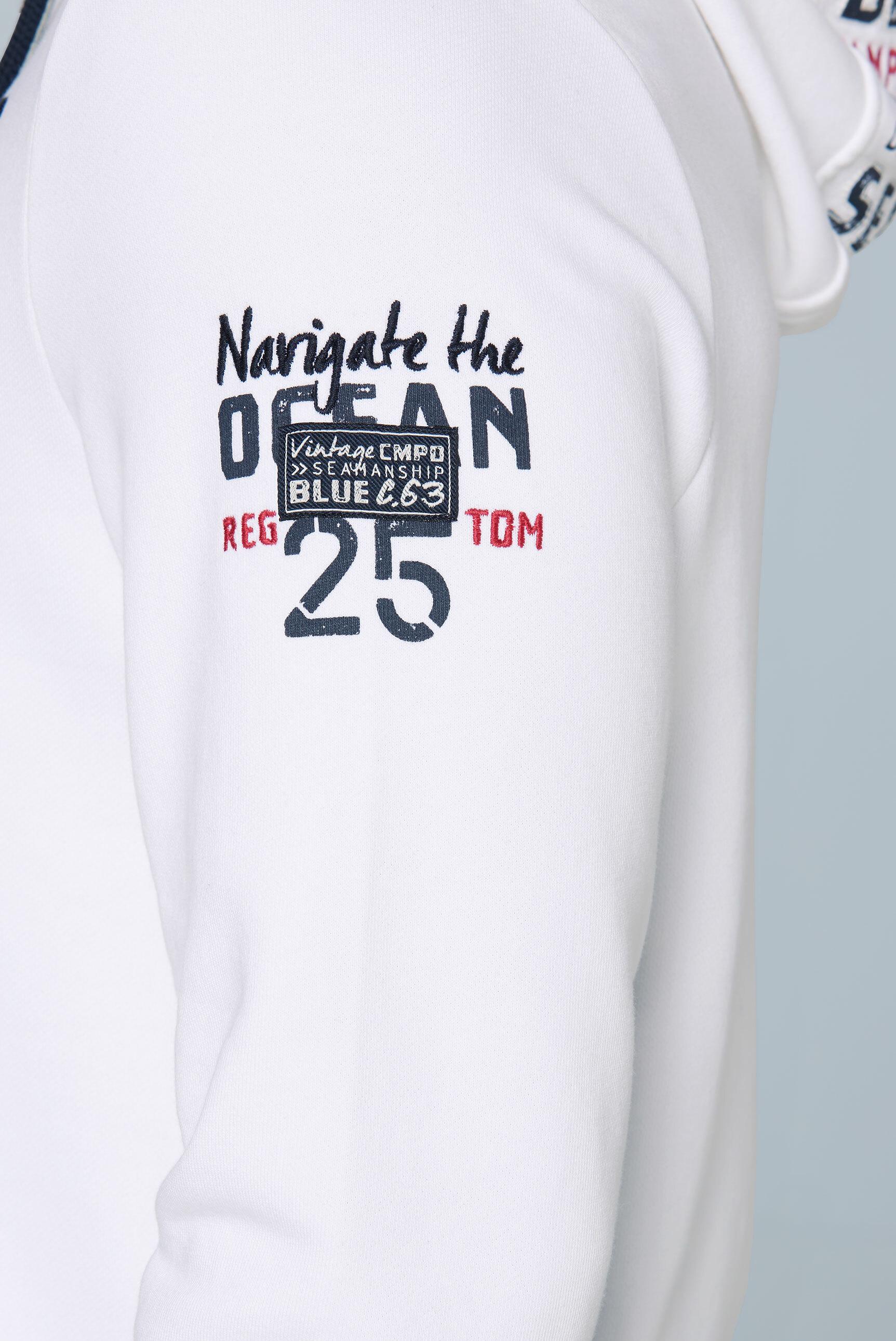Kapuzensweatshirt mit großem Frontartwork