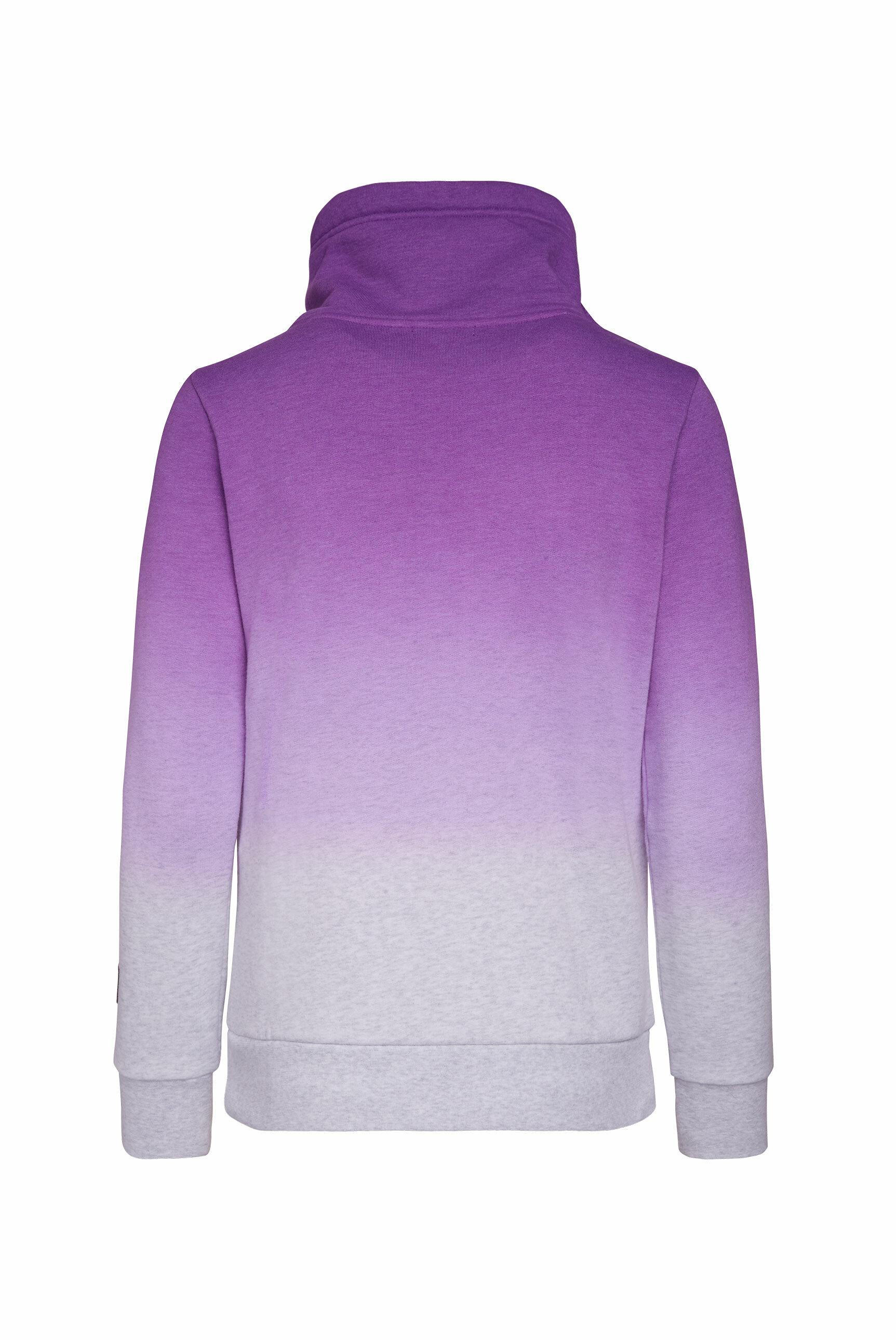 Sweatshirt mit Dip-Dye-Effekt und Artwork